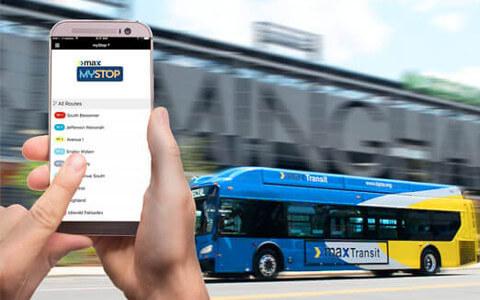 MaxTransit MyStop App